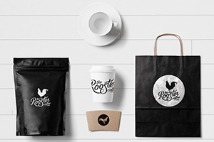 The Rooster Coffee Co. Branding