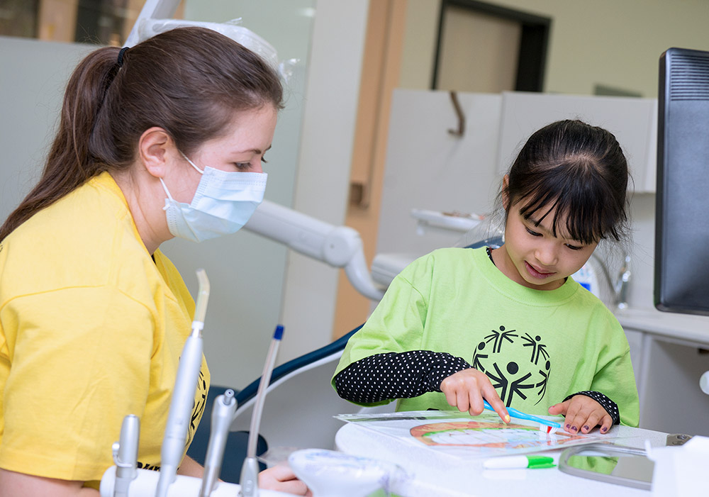Montreal Children's Hospital (MCH) Student Dental Clinic   Free dental care for refugee and new immigrant children under 10 who are not covered by medicare (RAMQ). All care is provided by dental students in their last year of training supervised by Montreal Children's Hospital Staff Dentists.