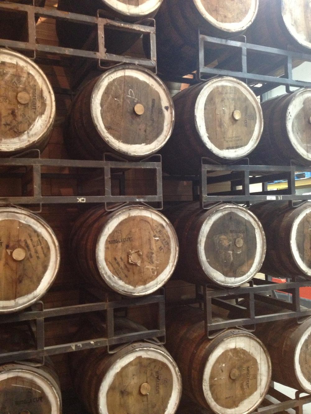 More barrels!