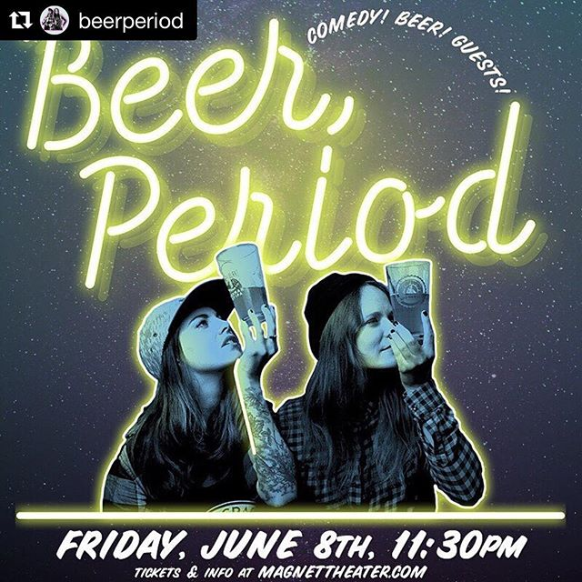"New Episode! Beer, Period: We are joined by Hayley and Ally, the hosts of the craft beer live comedy show @beerperiod.  They tell us how they came up with the idea for the live show, what got them into drinking craft, and their actual jobs in the beer industry. Make sure to check out their show this Friday June 8th at @magnettheater. . You can listen to this episode by clicking the link in the bio or searching ""Beer Friends Happy Hour"" on your favorite podcast app . . #TheBeerFriends #linkinbio #craftbeer #brews #🍺 #beernerd #🍻#beer #beertography #craftbeergeek #beerlover #craftbeerlover #craftbrew #beerblog #drinkcraft #Beerstagram #beerporn #podcast"
