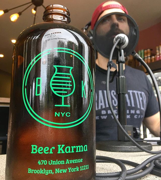 "New Episode Of @happyhourpod! . Beer Karma Session 3: Our third summer in a row we visit with Dan from @Beerkarma.bstc to chronicle his journey from day job to small business owner. He tells us how his life has settled down in his second year of business, and discusses his new normal being an active part of the beer industry. You can find Dan around New York this week promoting his upcoming collaboration with @kegandlantern, the 8X400 IPA, an homage to his craft beer running group. . . Come out, drink the beer, and try the workout it's named after! . . August 8th at 6:30pm at @asisnyc August 11th at 10:45 am at @beerkarma.bstc August 15th at 6:45pm at @beernoggin . . You can listen to this episode by clicking the link in the bio or searching ""Beer Friends Happy Hour"" on your favorite podcast app . . #TheBeerFriends #linkinbio #beerwars #craftbeer #brews #🍺 #beernerd #🍻#beer #beertography #craftbeergeek #beerlover #craftbeerlover #craftbrew #beerblog #drinkcraft #Beerstagram #beerporn #podcast"