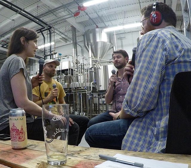 "New Episode! Grimm Artisanal Ales: We are joined by Joe and Lauren Grimm to talk everything @grimmales. We discuss their start as a commercial brewery in 2013, through their time as a nomadic brewery, up to the opening of their own brewery in Brooklyn. They take us through the highs of opening their brewery and some of the bumps in the road that they dealt with along the way. Finally they let us know what we can expect to see from them now that they are open for business. . . You can listen to this episode by clicking the link in the bio or searching ""Beer Friends Happy Hour"" on your favorite podcast app . . #TheBeerFriends #linkinbio #thinknydrinkny #craftbeer #brews #🍺 #beernerd #🍻#beer #beertography #craftbeergeek #beerlover #craftbeerlover #craftbrew #beerblog #drinkcraft #Beerstagram #beerporn #podcast"