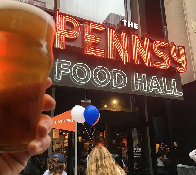 "Kicking off the end of summer and welcoming the beginning of fall with a little Oktoberfest celebration at @thepennsy. Tonight, along with a keg of Hofbrau, they tapped ""Pennsyfest"" which was brewed in collaboration with @fivebororoughsbrewing. This is a great festbier and is a delicious brew to usher in the best season for beer. This one is worth stopping by the Pennsy Beer Garde for a pint (or a liter) if you are going by (or through) Penn Station. . . . #TheBeerFriends #unitedbybeer #oktoberfest  #brews #🍺 #beernerd #🍻#beer #beertography #craftbeergeek #beerlover #craftbeerlover #craftbrew #beerblog #drinkcraft #Beerstagram #beerporn"