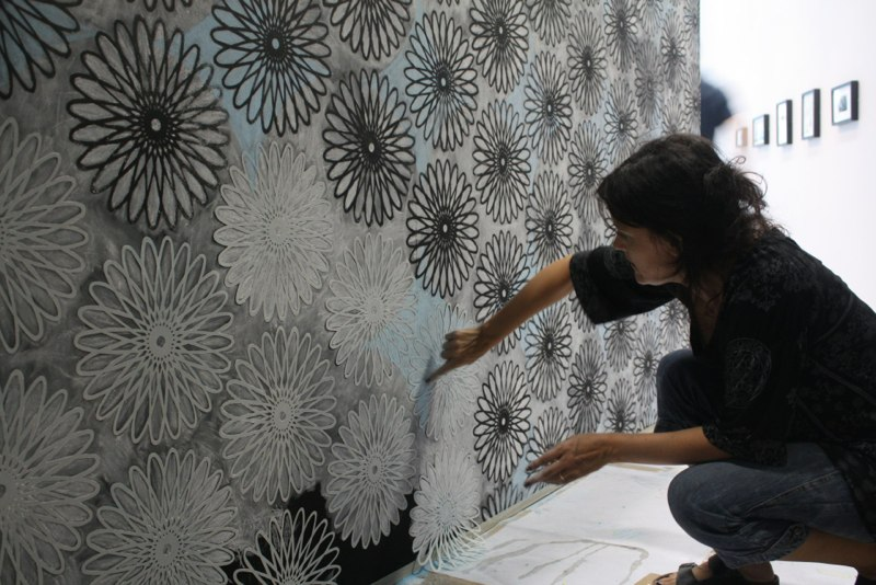 The Drawing Shed - installation