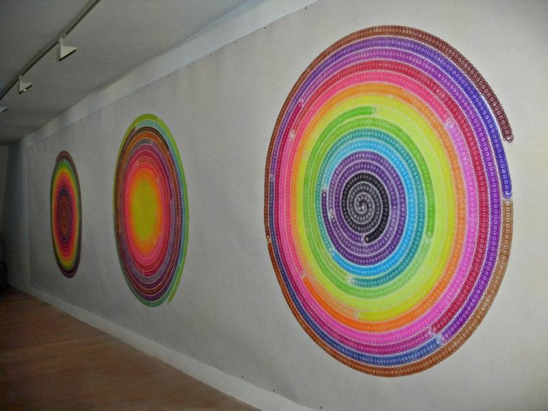 Spiral Tryptich