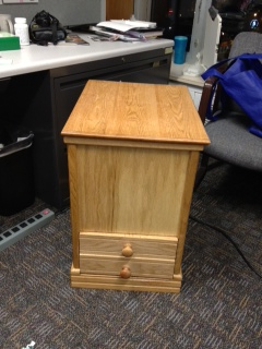 File Cabinet on Wheels by Teryl Brewster
