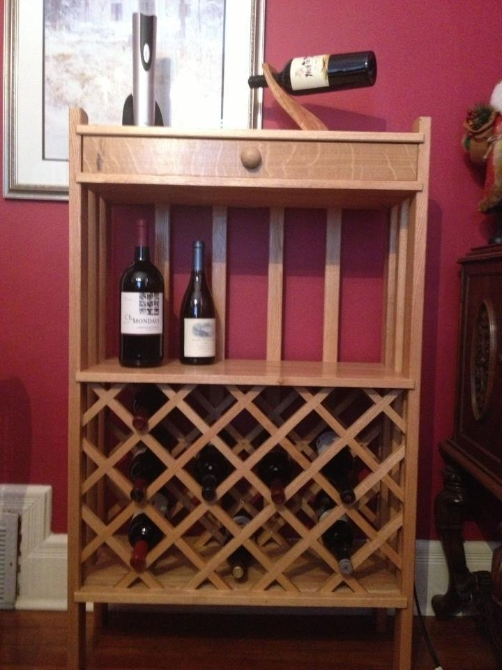 Wine Rack by Aly Slaughter