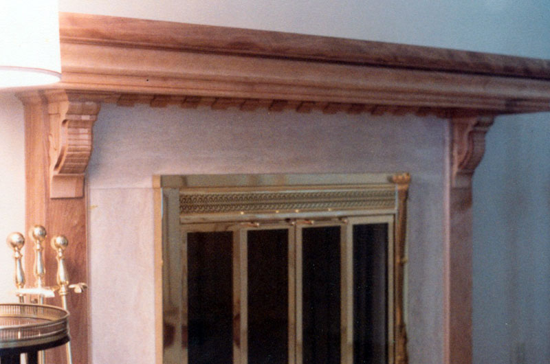 Fireplace Mantle I built