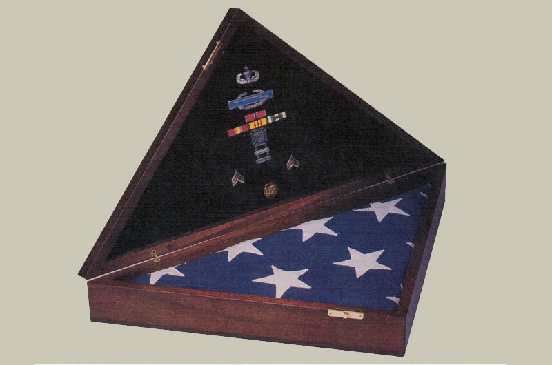 Commemorative flag case I designed in 1987