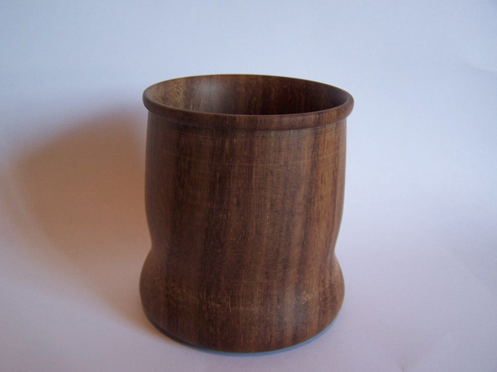 Walnut Cup made by George Wurtzel