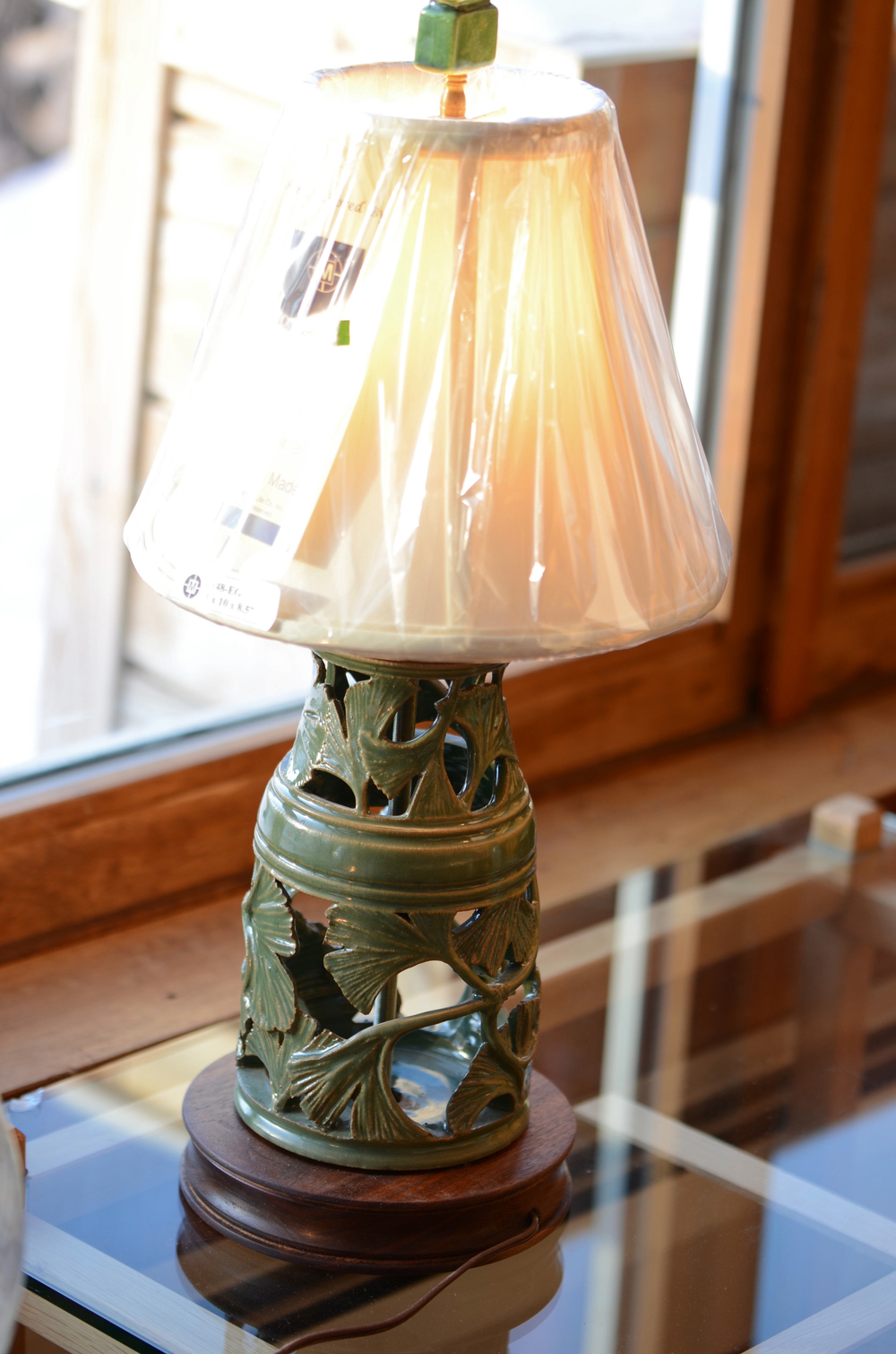 Ginko lamp. Photo by Karen Kopacz.