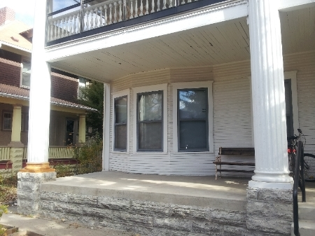 I replaced the bases of these large porch columns on Pillsbury Ave in Minneapolis, MN