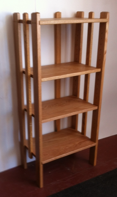 Everyone needs an oak bookcase.