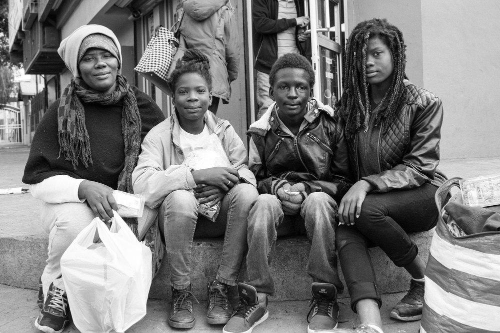 Cory Zimmerman  - Argentina and her children, Tijuana