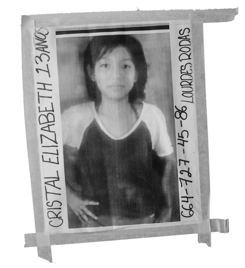 Cory Zimmerman , Missing Person's Poster, Benito Juarez Sports Complex, Tijuana