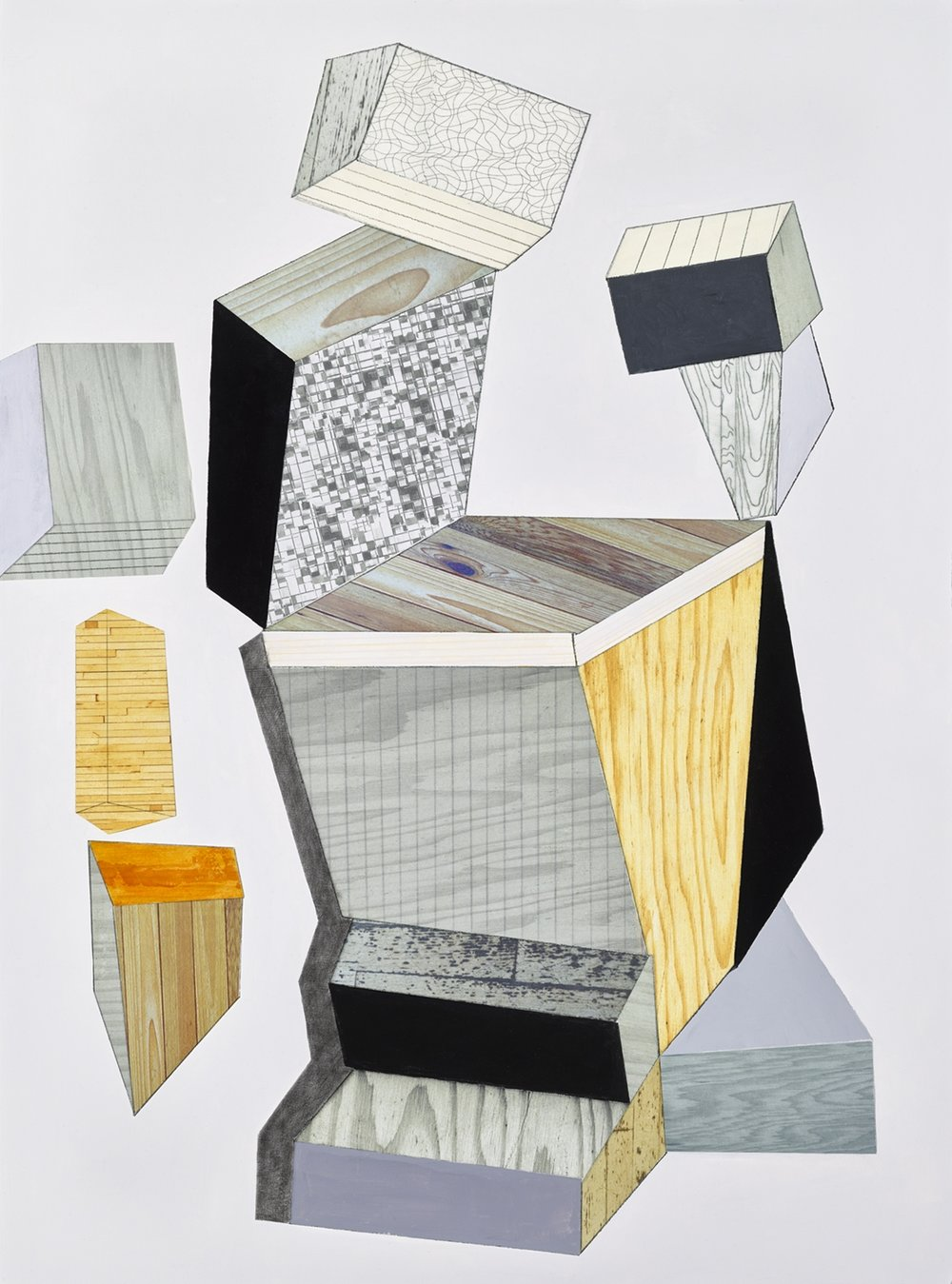 Artwork from Barbara Robertson's  Architectonic
