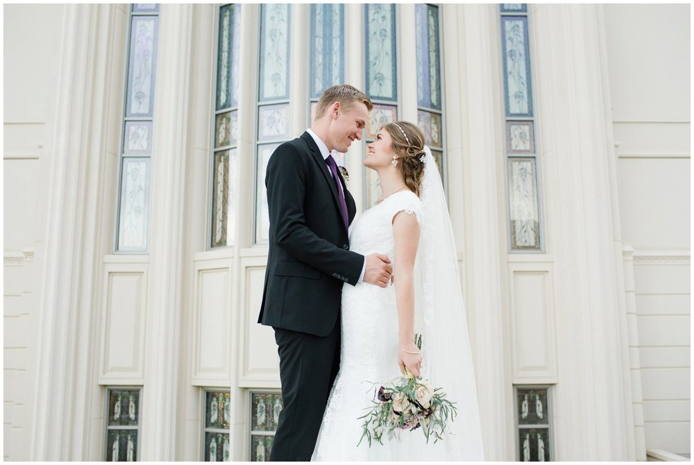 Jamie Tervort Photography | Kayli and Nathan | Payson Temple, Utah Formals, Bridals