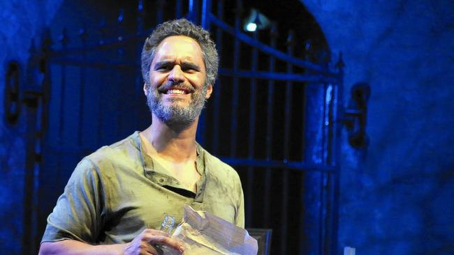 Martín as Luís Trescante in Olives and Blood at Connecticut Repertory Theater