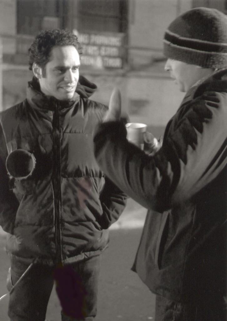With director Ramon Ricard