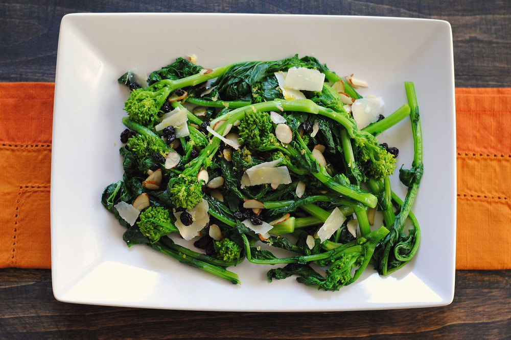 Almond-Broccolini Salad