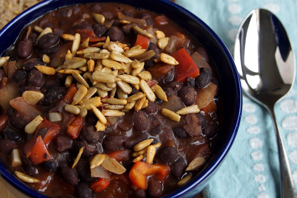 BBQ Black Bean Chili