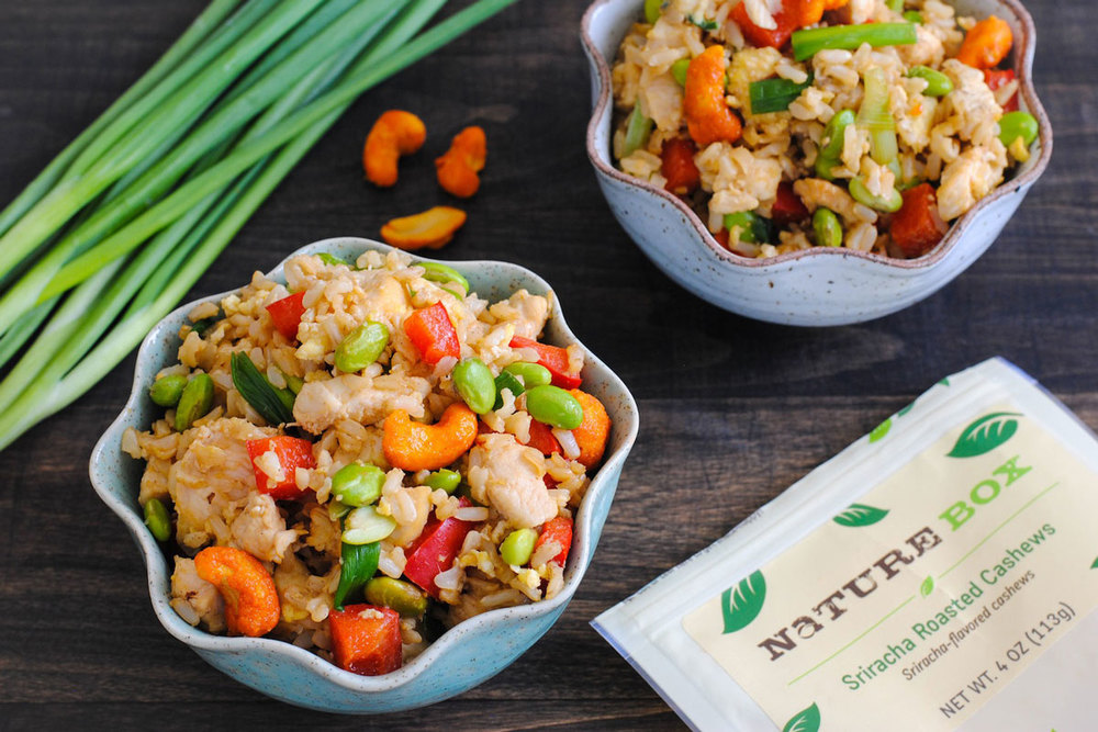 Sriracha Cashew Fried Rice