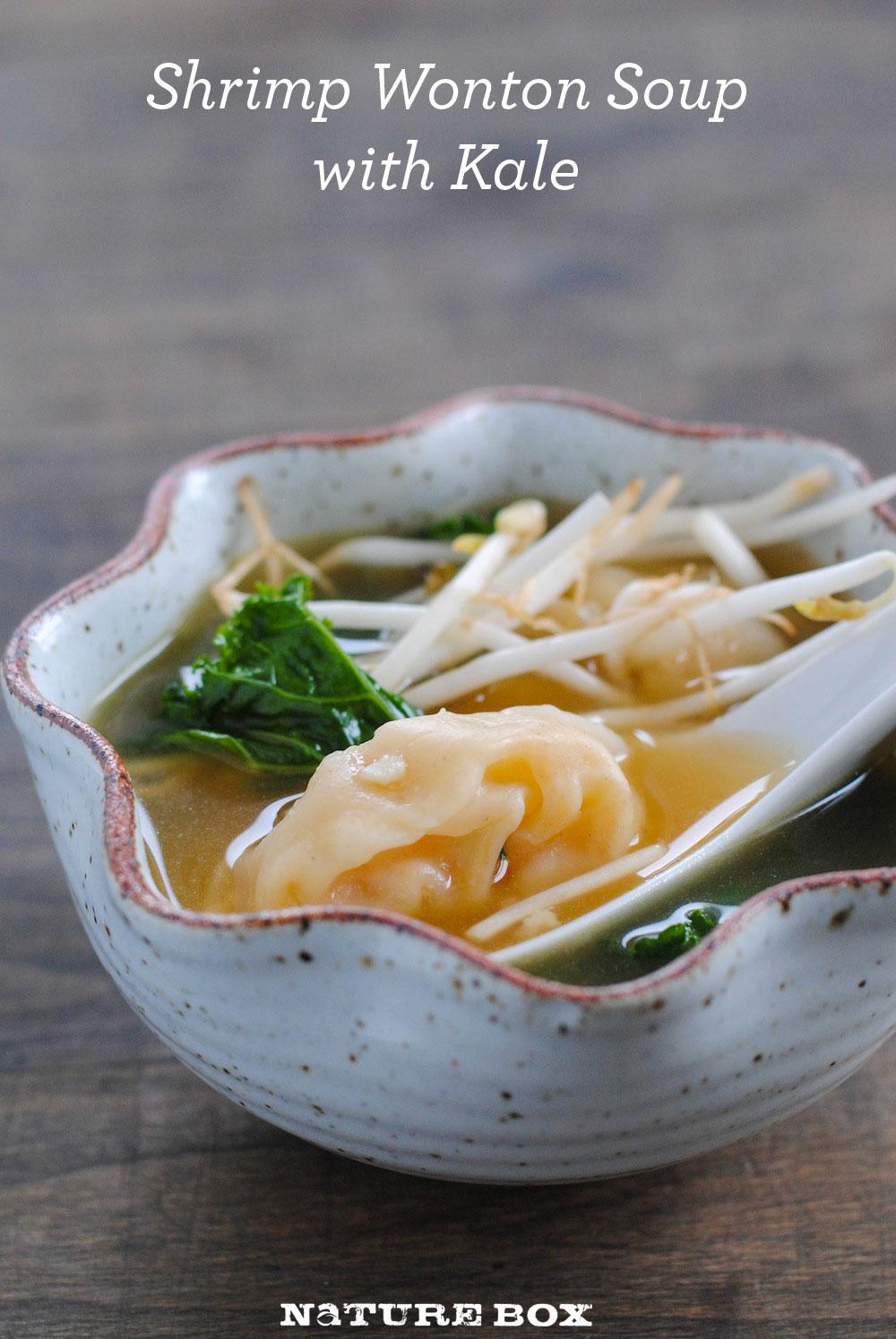 Shrimp Wonton Soup with Kale — NatureBox Blog
