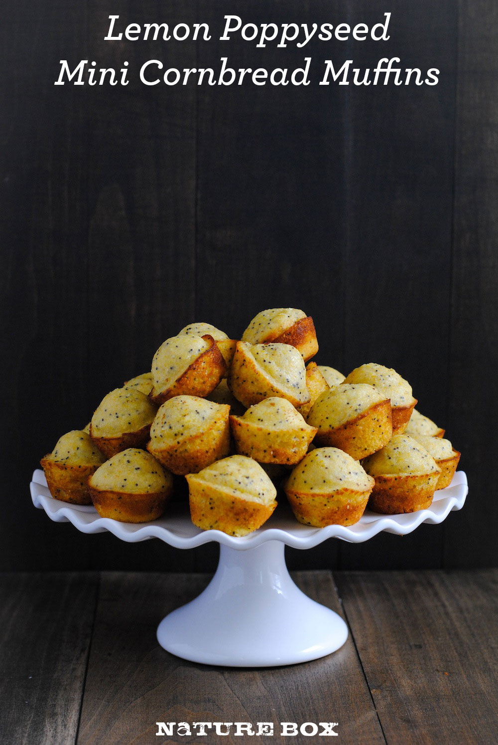 Lemon Poppyseed Cornbread Mini Muffins — NatureBox Blog