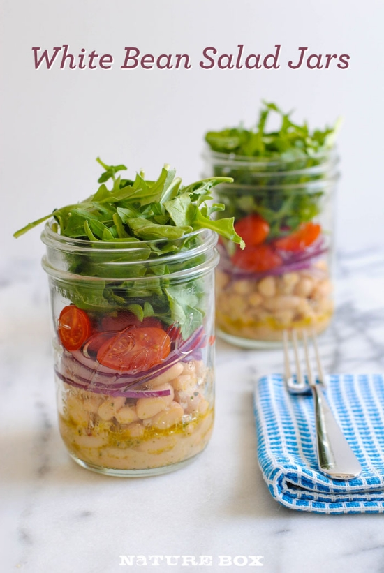 White Bean Salad Jars — NatureBox Blog