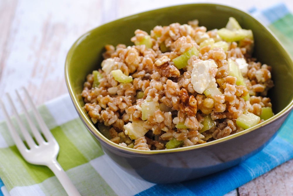 Farro & Walnut Salad