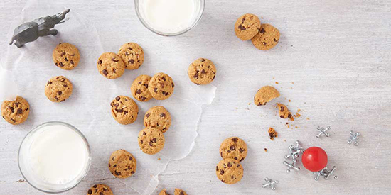 Whole Wheat Chocolate Chip Cookie Bites