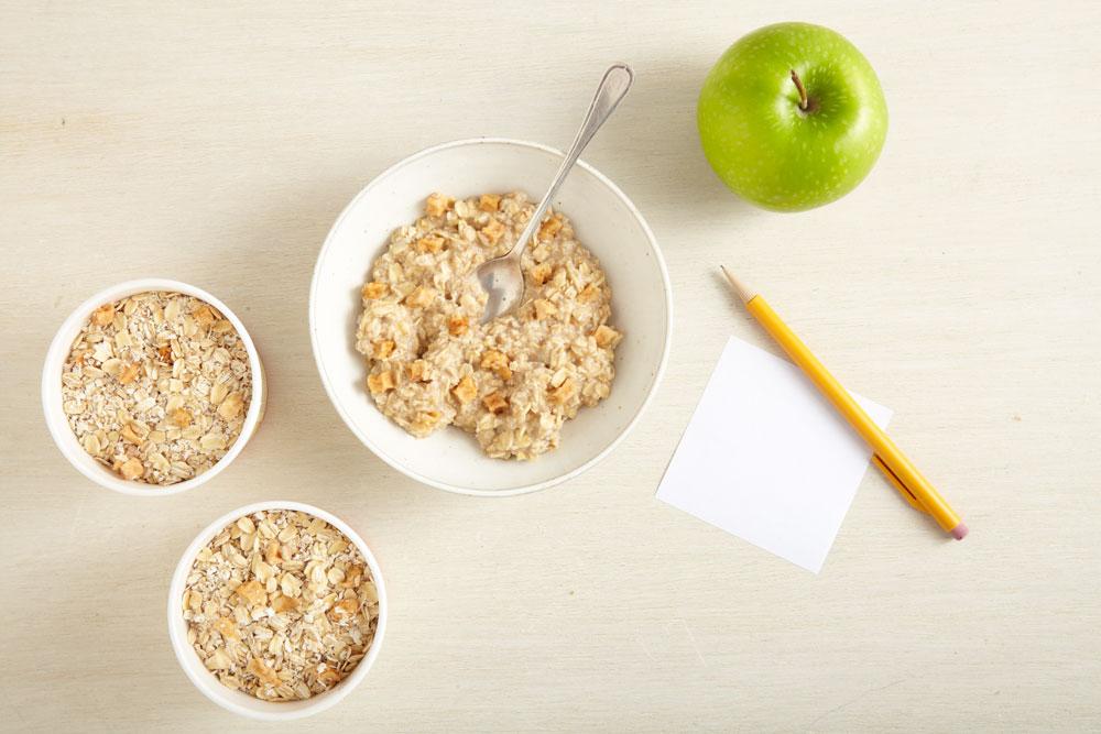 Apple & Cinnamon Oatmeal and Pumpkin Seed, Raisin & Spice Oatmeal
