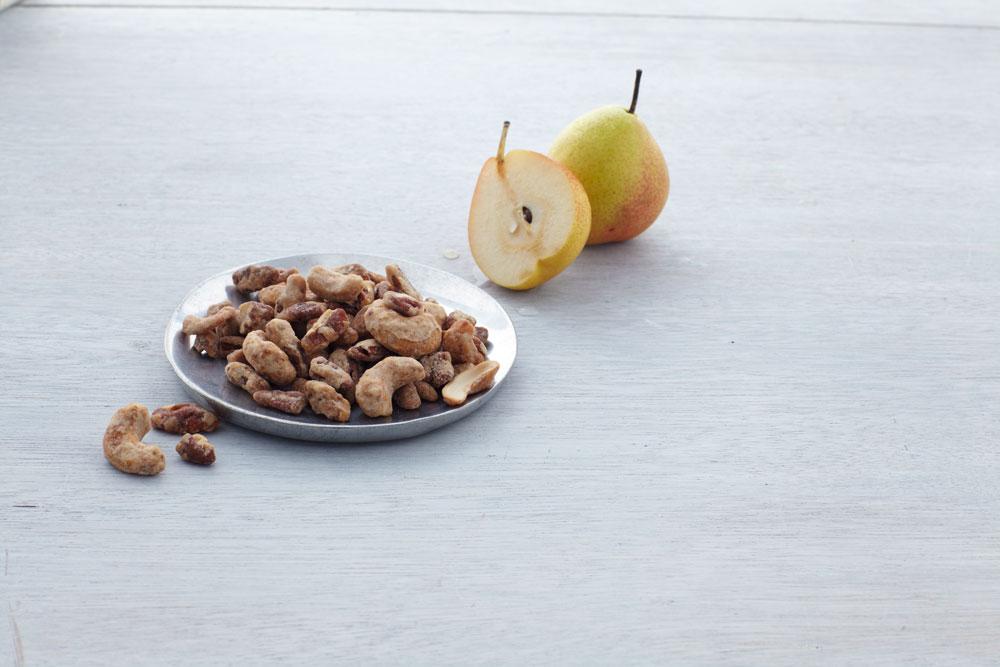 Pear Praline Crunch