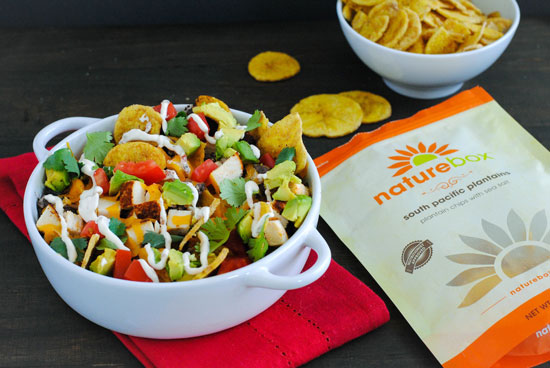 Chicken Nachos with South Pacific Plantains