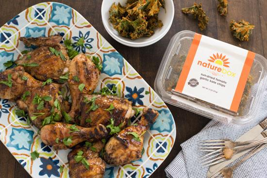 Bourbon-Glazed Grilled Chicken