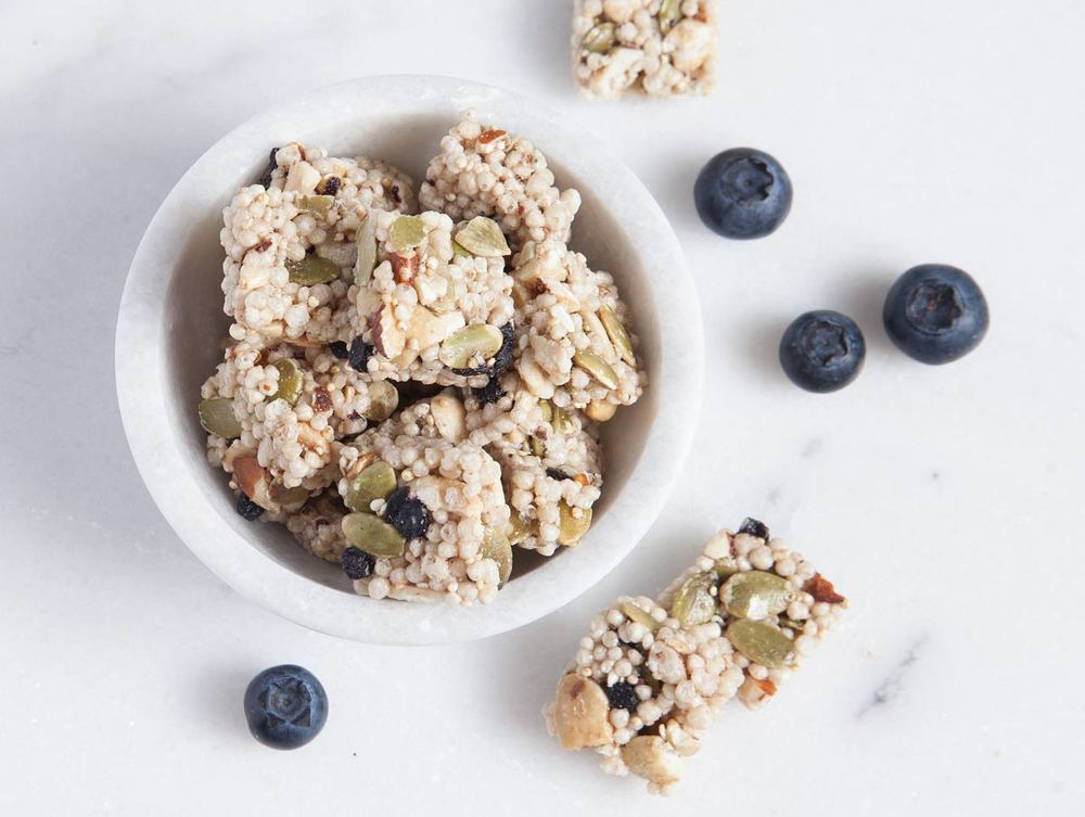 Blueberry Almond Quinoa Bites