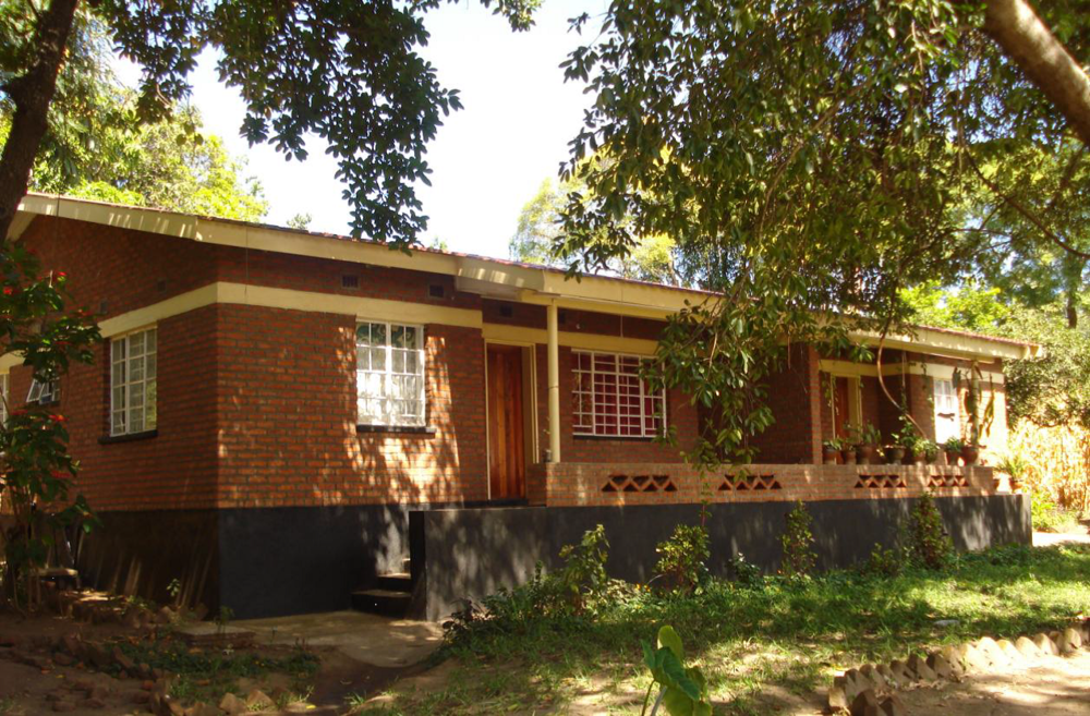 The first completed teacher's residence.