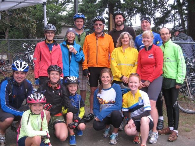 TEam VCRC Rides...biking in Victoria