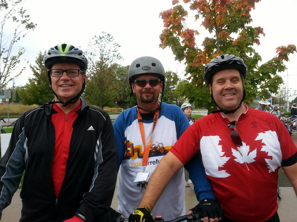 The Pedal Pushers biked 100 km's!