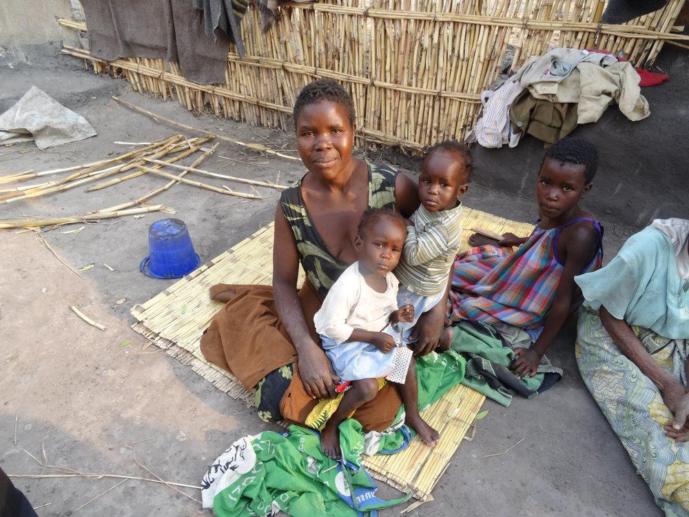 Zione and 3 of her children.