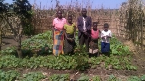 We are going to share some stories of regular people in Kalulu Village who have been impacted by our Foundations for Farming training.  Karin van Meeuwen has sent some updates, and it's people who you need to know!