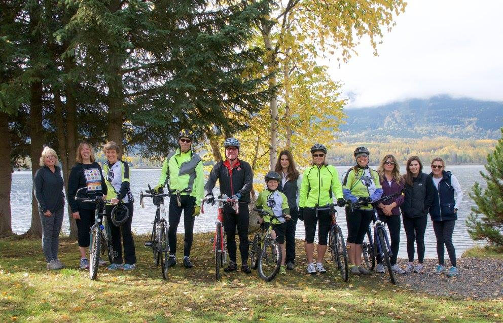 Our Saddles for Soya team in Smithers, BC.