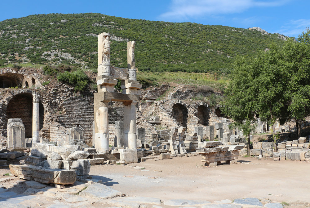 Temple of Domitian in Ephesus