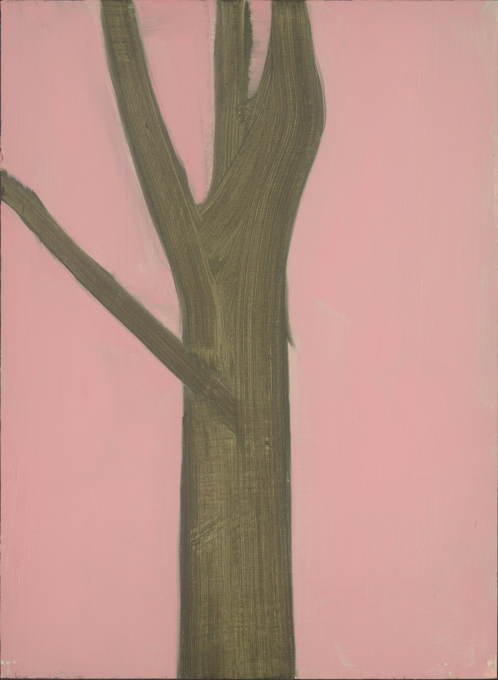 Pink Wall, oil on linen on board, 40x29.5 cm (sold)