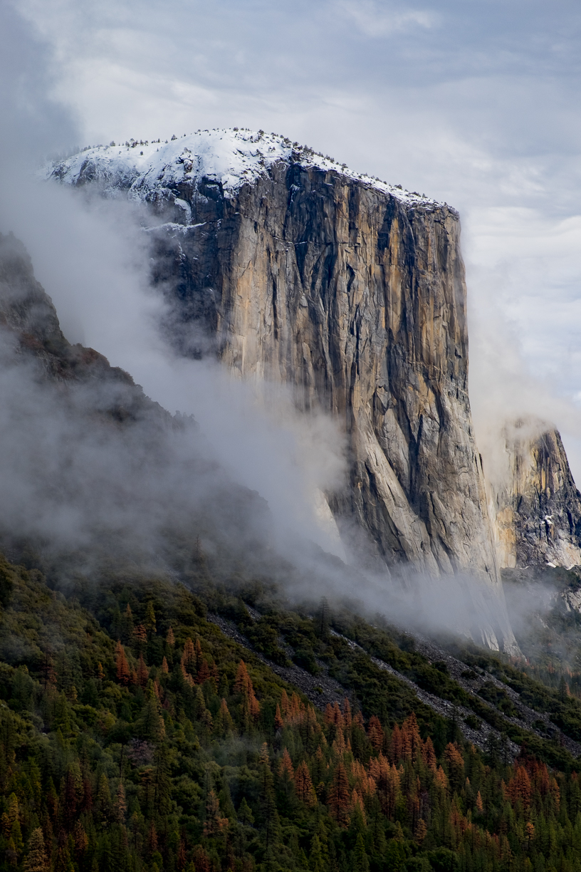 Fuji XT1, 18-55 f2.8-4.  El Capitan taken from the tunnel view rest stop, Yosemite National Park.
