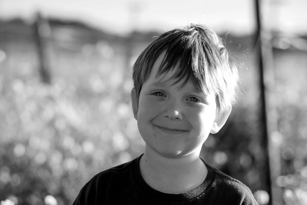 My Son, shot with the Fuji XT1, 56mm f1.2 lens.