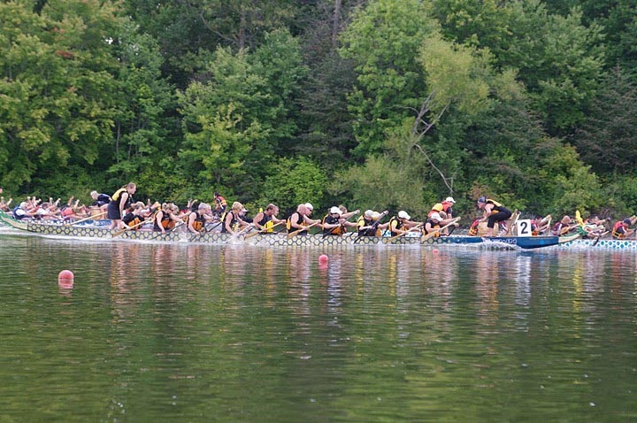 Princeton dragon boat race