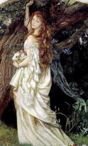 Arthur Hughes--Ophelia