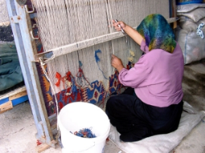 Turkish Weaver