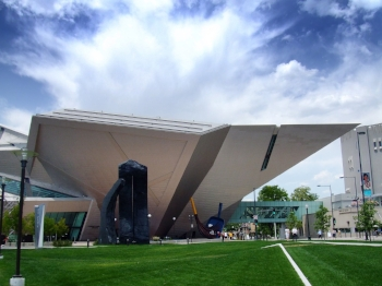 Denver Art Museum. Credit: Ray Tsang